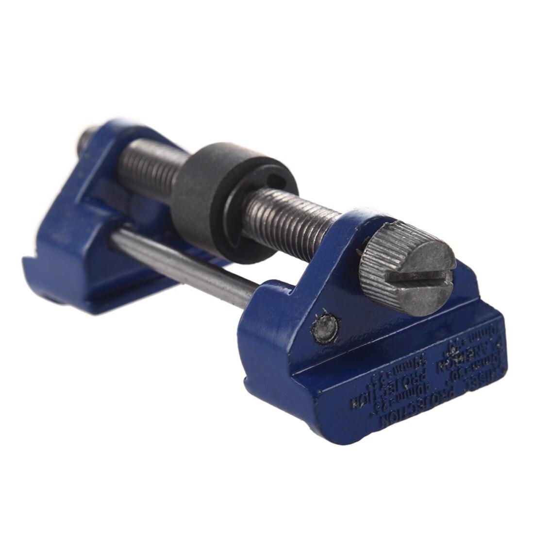 Metal bruñido guía madera plano y Cinceles afilado plano hierro cepillos cuchillas herramienta azul