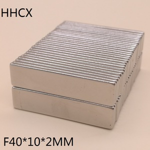 Image 2 - 50pcs/lot magnet 40x10x2 N38 Strong Square NdFeB Rare Earth Magnet 40*10*2 Neodymium Magnets for moto