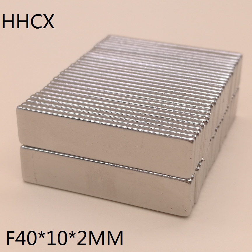 Image 2 - 50pcs/lot magnet 40x10x2 mm N38 Strong Square NdFeB Rare Earth Magnet 40*10*2 mm Neodymium Magnets 40mm x 10mm x 2mm-in Magnetic Materials from Home Improvement