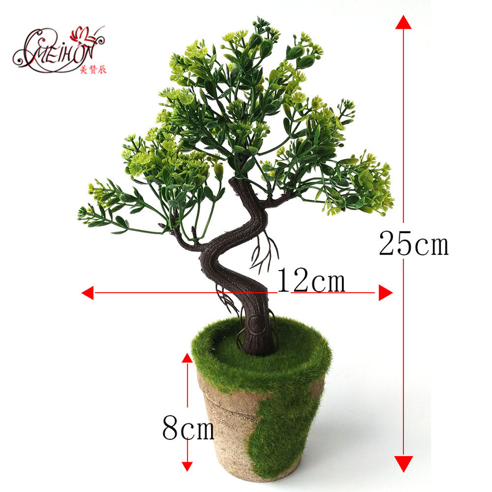 Artificial Bonsai Plant Pine Trees Wedding Flowers Plastic Flower Bonsai For Decorating House With Free Shipping Artificial Bonsai Artificial Bonsai Plantsplastic Flowers Aliexpress