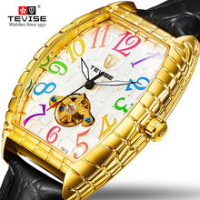 TEVISE Fshion Casual Watches Men Automatic Mechanical Watch Waterproof Male Watch Luminous Time Display Wristwatch Gift for Men цена