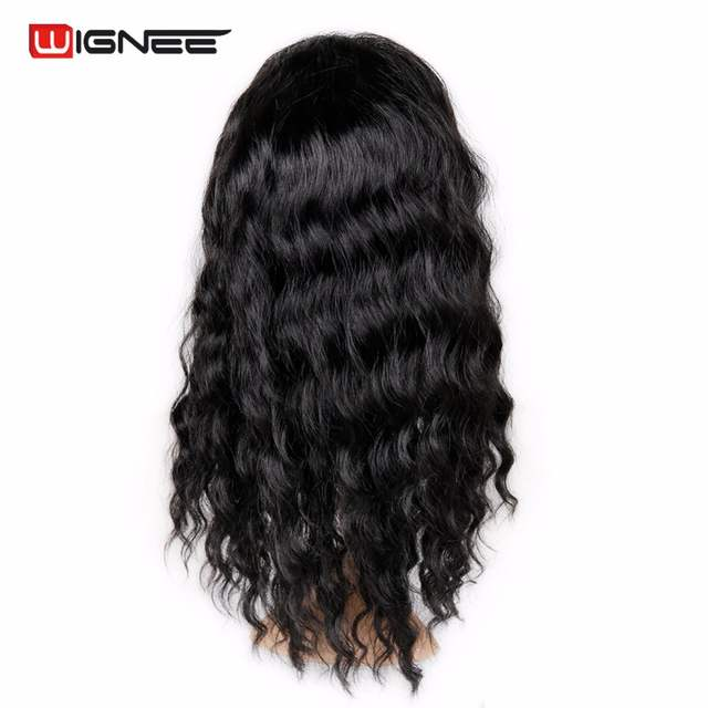 Online Shop Wignee Lace Front Synthetic Wigs For Black White Women Soft Fake  Hair Natural Wave Cosplay Hair Classic Wig African American  928ada650ec1