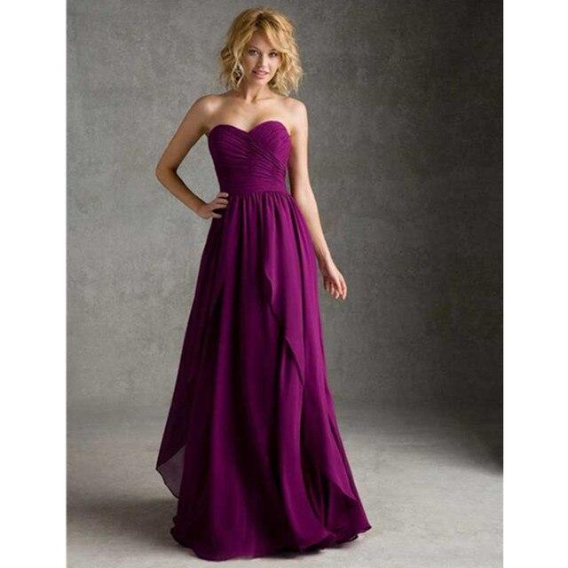 Vestidos dama de honor baratos