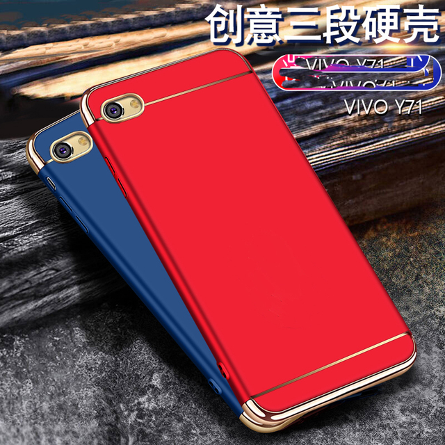 sneakers for cheap 3352e a2a05 US $3.5 |Case For Vivo Y71 Y 71 Cover Luxury 3 in 1 Phone Case For bbk vivo  y71 y81 y85 v7 v 7 plus Phone Cases-in Half-wrapped Case from Cellphones &  ...