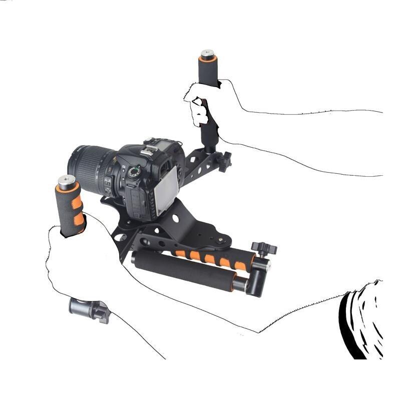 DSLR kits 5DII rigs video 5D2 camera slr dslr rig shoulder mount movie kit set cage