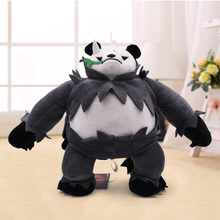Hot Movie Detective Cartoon Pangoro Soft Plush Doll Toys High Quality Pancham Stuffed Animal Peluche Toy For Kids Christmas Gift цена