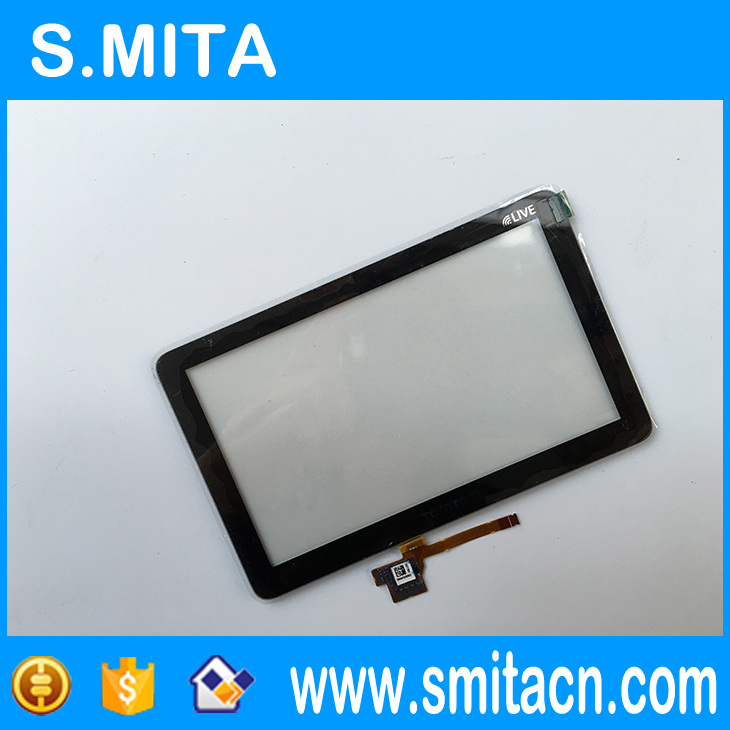 Replacement 5 inch touch screen For TOMTOM GO 1000 1005 LIVE LCD display LMS500HF04-002 GPS LCD 130*81 mm at050tn33 touch screen 5 inch x580lec520p