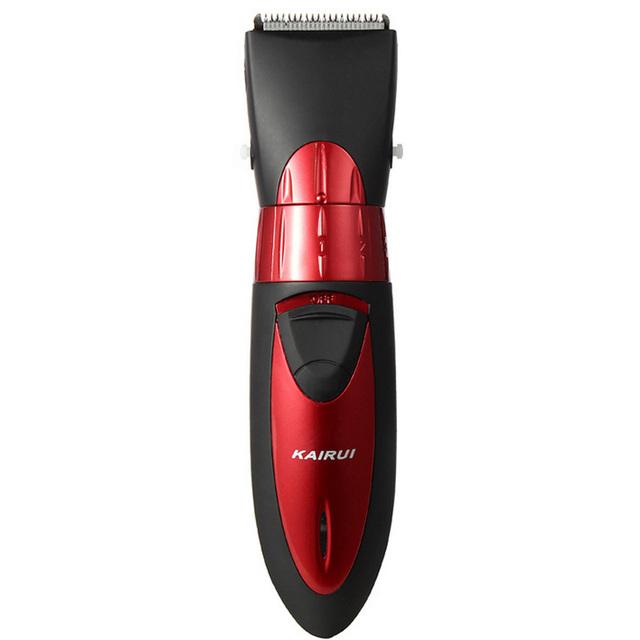 Los Niños de alta calidad lavable profesional peluquería/Recargable de cortar el pelo eléctricas longitud Ajustable Carga de ocho horas