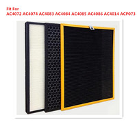 3pcs/lot Replacement Filter For AC4072 AC4074 AC4083 AC4084 AC4085 AC4086 AC4014 ACP073 Air Purifier Filter Parts