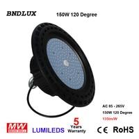 12 x 150W UFO LED high bay light Lumileds LED MW 5 yrs warranty LED RETROFIT