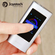 100% original joyetech ocular c powred by dual 18650 baterías mod 150 w caja mod con pantalla táctil de bluetooth mod ocular c 150 w