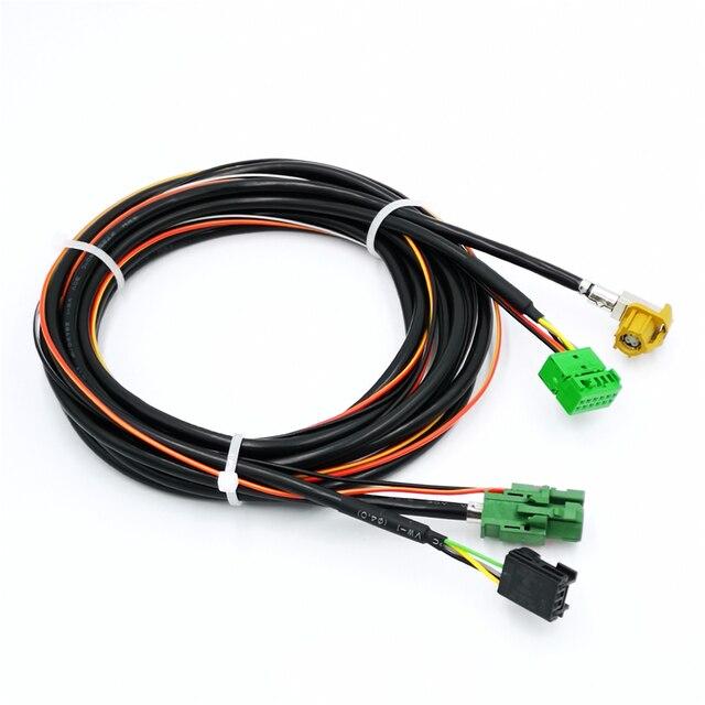Para VW Golf MK7 7 Passat B8 Tiguan 2017-2018 interfaz CarPlay Interface USB Cable de alambre