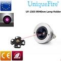 UniqueFire падение в ИК 940nm светодиодный Pill 1503-940nm держатель лампы эмиттер Невидимый светильник 3 режима драйвер для UF-1503 светильник вспышки