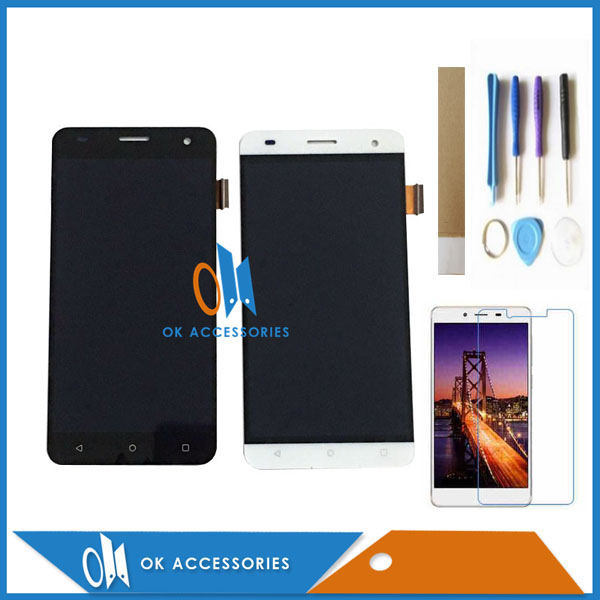Black White Color For Fly Cirrus 2 FS504 LCD Display+Touch Screen Digitizer Assembly With Kit 1PC/Lot