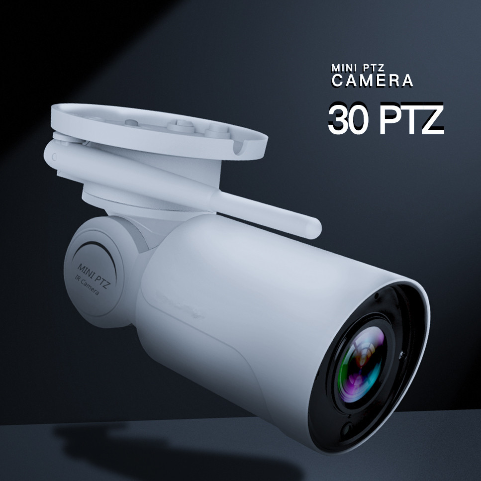 New HD 1080P 2MP 3.6mm lens Bullet IP Camera Pan Tilt Outdoor Waterproof IP66 IR PTZ Wireless Wifi Security Surveillance Cam P2P hd 1080p pan