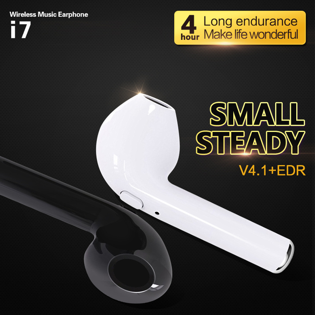 NEW i7 bluetooth earphone Twins Bluetooth V4.2 Stereo Headset earphone For Iphone X/8/7plus/7/6s/6 plus Galaxy S8Plus