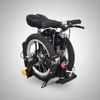 14 дюймов складной мини велосипед портативный складной велосипед для взрослых Детский велосипед отличный подарок