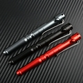EDC алюминиевый сплав для самозащиты  безопасность  тактическая ручка карандаш с надписью  многофункциональная Вольфрамовая стальная голов...
