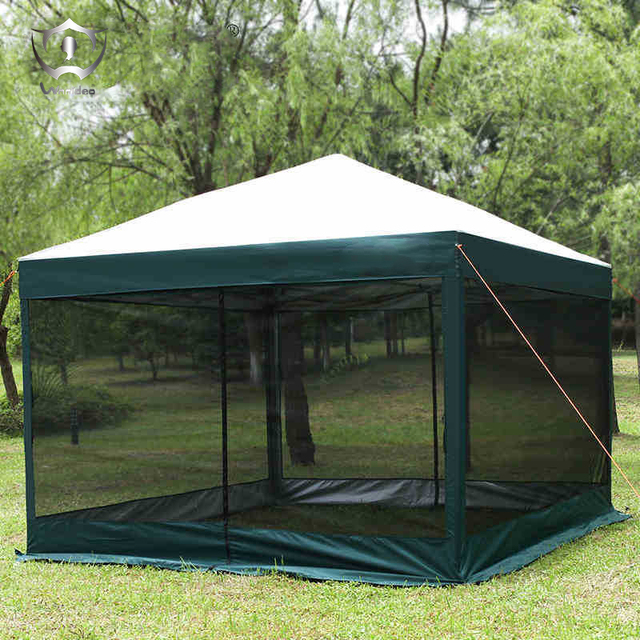 Four Outdoor Umbrella Tent Awning Canopy Folding Telescopic 10-12u0027s Space Advertising Tents ZT : foldable canopy - memphite.com