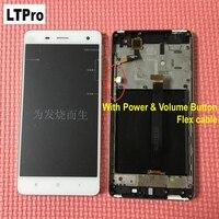 LTPro OK Test ile Tam LCD Ekran Dokunmatik Ekran Digitizer Meclisi çerçeve Için Xiaomi mi4 m4 Mi 4 Telefon Parçaları WCDMA veya TDSCDMA