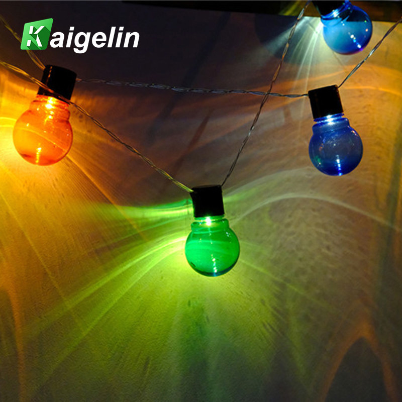 2.6/5M 10/20 LED Cotton Ball Lights String Fairy Light Party Decorative Sting Light Girl Room Wedding Decoration Battery EU Plug