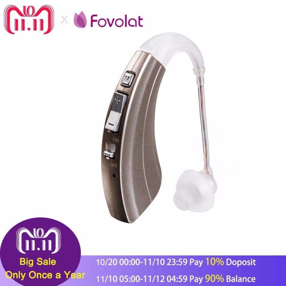 Più nuovo di Alta Qualità Ricaricabile Hearing Aid Per La Perdita Dell'udito Completa Mini Circuito di Apparecchi Acustici Amplificatore di Voce di Trasporto di Goccia