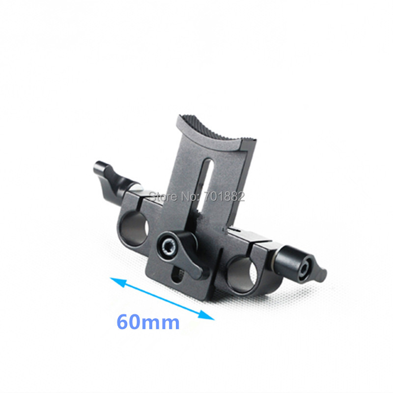 Camera Lens Holder 15mm rod rig adapter (2)