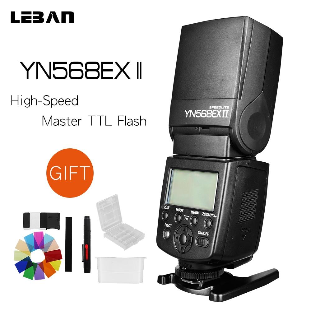 Yongnuo YN 568EX II TTL Master High Speed Sync 1 8000s Flash Speedlite for CANON 5D2