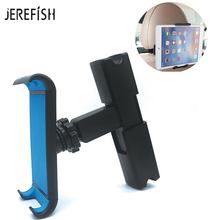JEREFISH 7-11inch Universal Auto Car Tablet Holder For Pad 2 3 4 Mini 1 2 3 4 Air 1 2 Pro Car Back Seat Tablet Car Mount Stand