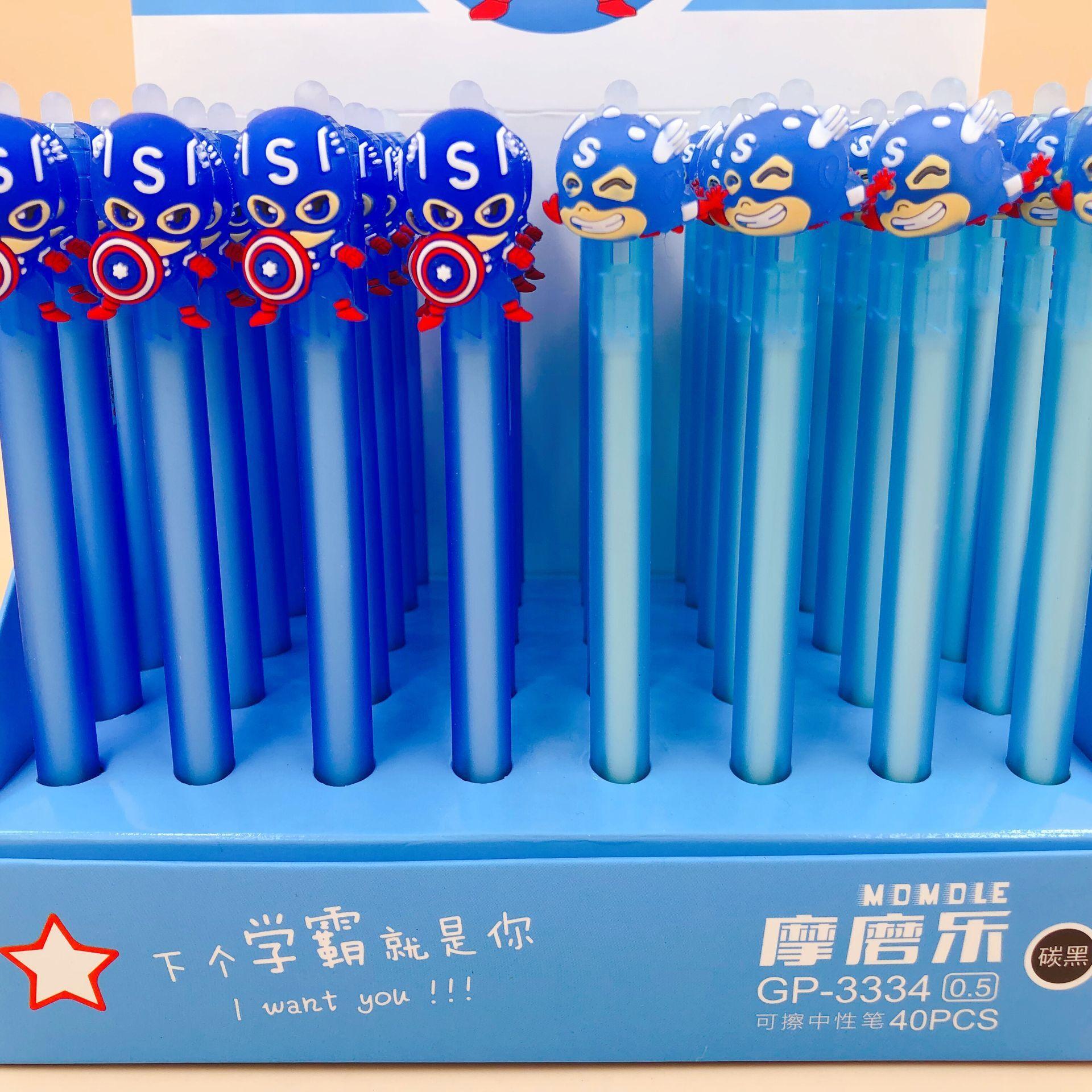 Marvel  Avengers Kawaii Novelty Erasers