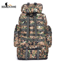 100L Outdoor Sport Tactical Military Camouflage Printing Backpack Climbing Mountaineering Bag Men Army Rucksack XA912WD цена