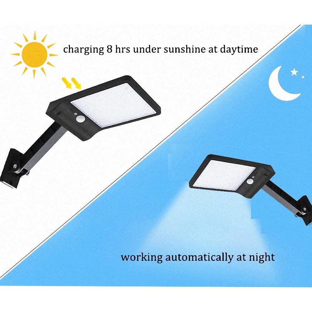 luzes do jardim solar lampada solar ajustavel 4 7 02