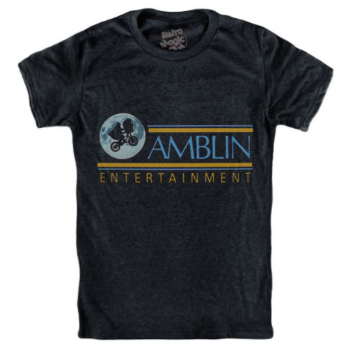 AMBLIN ENTERTAINMENT T-shirt E.T. extra terrestrial Back to the Future Gremlins