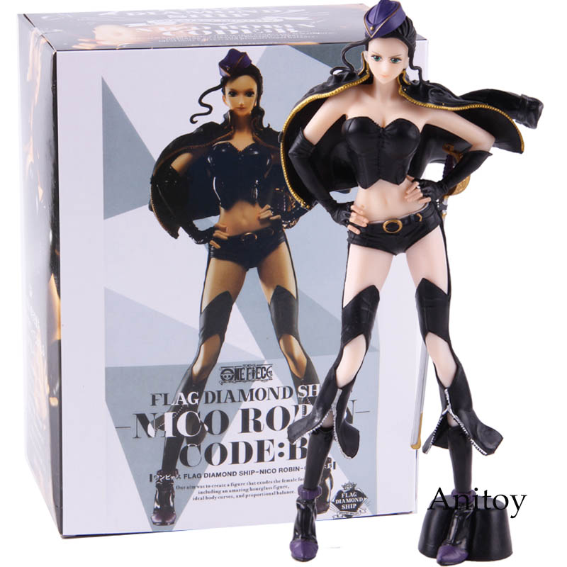 Hot Toys Anime One Piece Nico Robin Flag Diamond Code:B Ver. Action Figure Collectible Model Toy