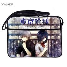 Sling-Bags Cross-Body Schoolbag Waterproof PU Satchel Tokyo Ghouls Anime Cosplay Students