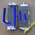 Hi-performance radiator good quality radiator L&R Aluminum radiator+BLUE HOSE FOR Yamaha YZ426F/WR426F 2000-2001 2002 2003 02 03
