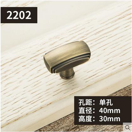 Furniture Knobs European Cabinet Knobs and Handles Simple Kitchen Handles Drawer Pulls Door Bronze Handles YJ2202 css clear crystal glass cabinet drawer door knobs handles 30mm
