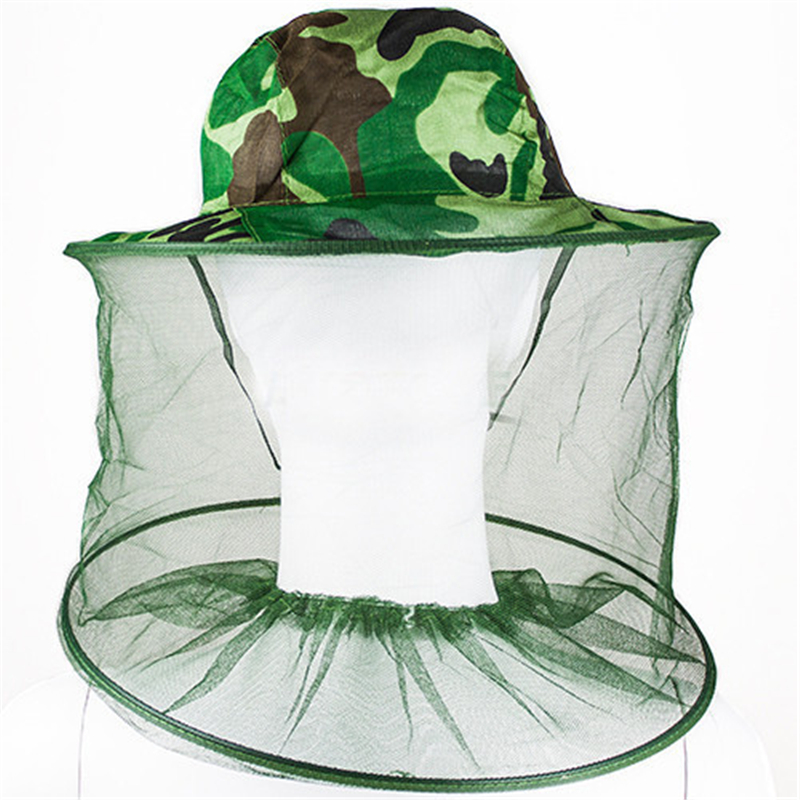 Home & Garden 2016 New Mosquito Bug Insect Bee Resistance Sun Net Mesh Head Face Protectors Hat Cap For Men Women