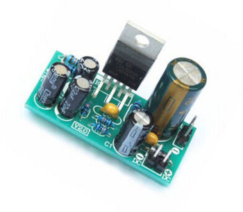 TDA2030A Electronic Audio Power Amplifier Board Module Mono 18W DC 9-24V For DIY Kit 2 dual channel tda2030a amplifier module in ac dc power supply can be pcb empty plate parts products