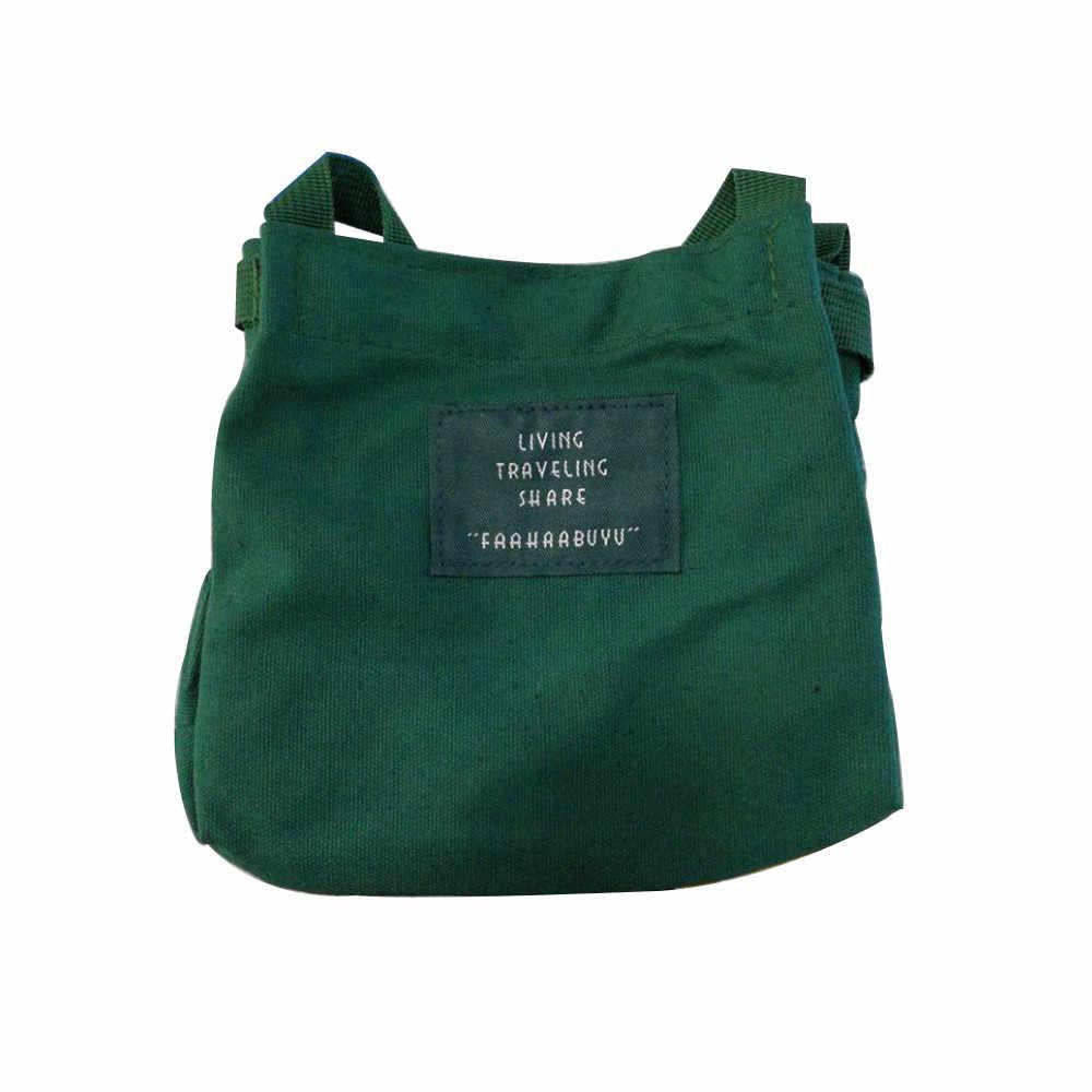 OCARDIAN ハンドバッグ韓国語バージョン女性ガールキャンバスメッセンジャーバッグシンプルなの学生アートジョーカーショルダーバッグドロップシップ May6