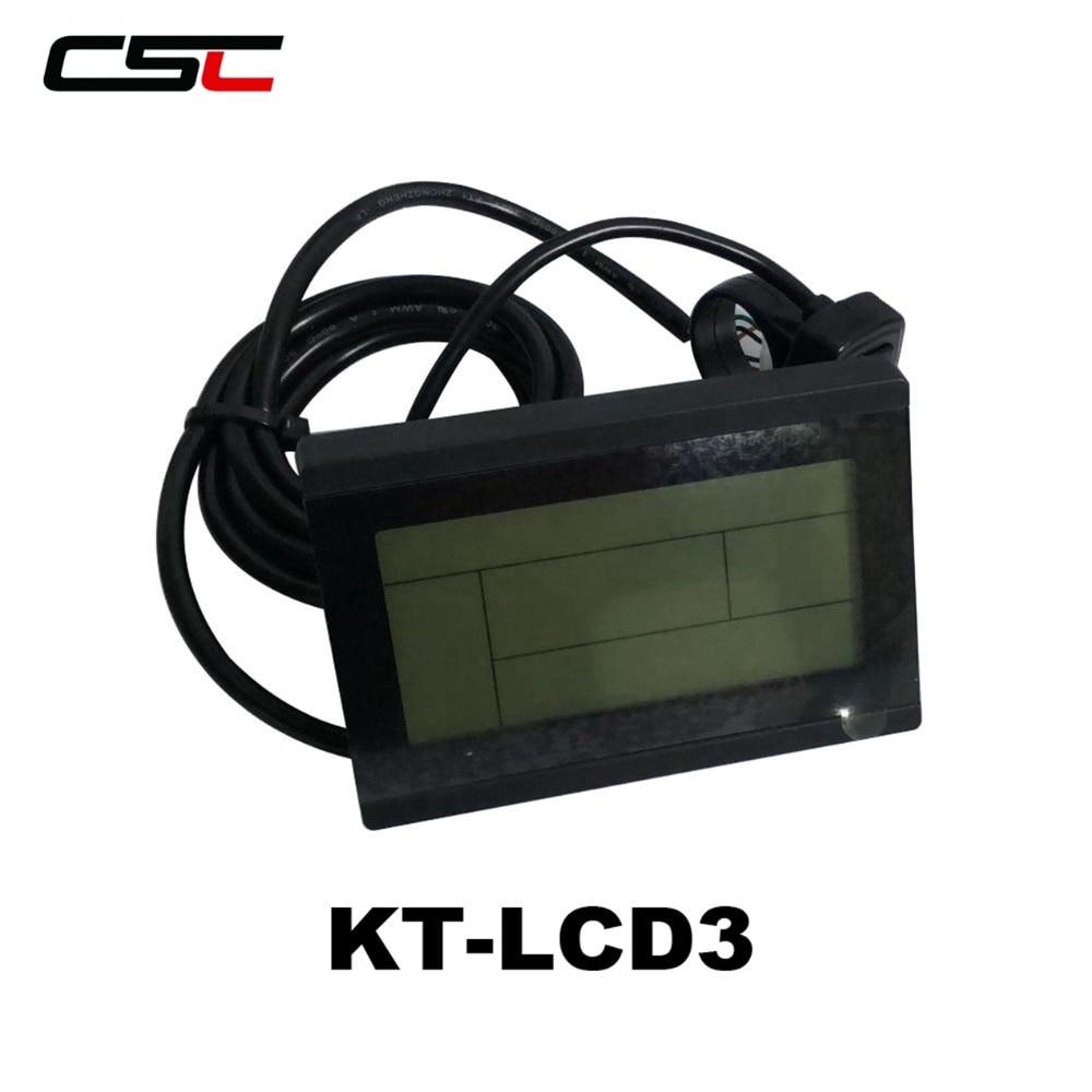 Lcd3 Lcd Display for Electric Bike 24V 36V 48V 60V 72V Intelligent KT LCD3 Electric Bicycle