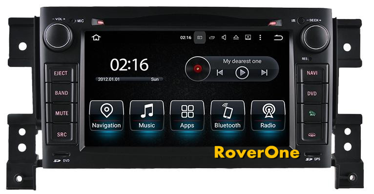 Android 7.1 pour Suzuki Grand Vitara 2005-2010 voiture DVD GPS Navigation lecteur multimédia système Android Radio stéréo automatique