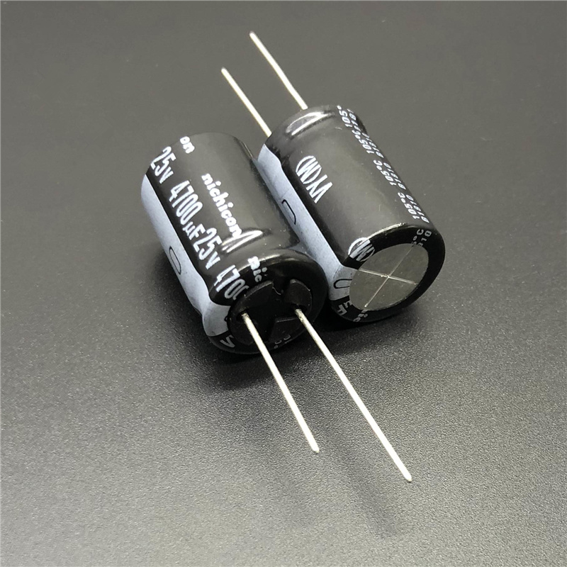 2pcs/20pcs 4700uF 25V NICHICON VY Series 16x25mm Wide Temperature Range 25V4700uF Aluminum Electrolytic Capacitor