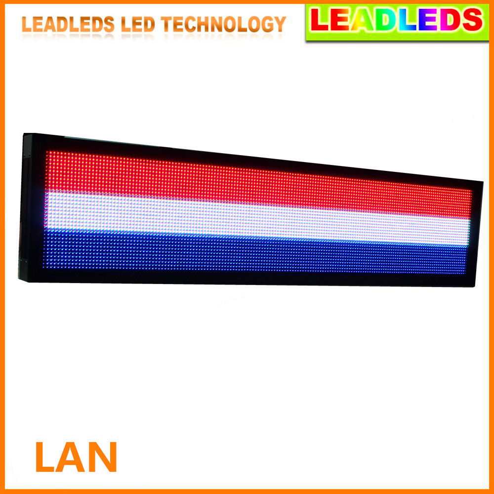 P10 32 * 192 pixel Outdoor video Led Display Screen Full Color LED Sign Board,Use P10 led waterproof RGB Full color module
