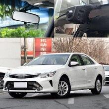 For Toyota Camry 2015 Car Wifi DVR car driving video recorder hidden installation FHD 1080P Car Dash Camera Car Black Box