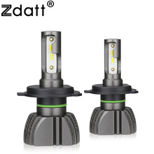 Zdatt H7 LED H4 H11 Lamp Car Light Bulbs H8 H9 9005 9006 Running Lights 8000LM 80W 12V 24V  6000K CSP Auto No Error
