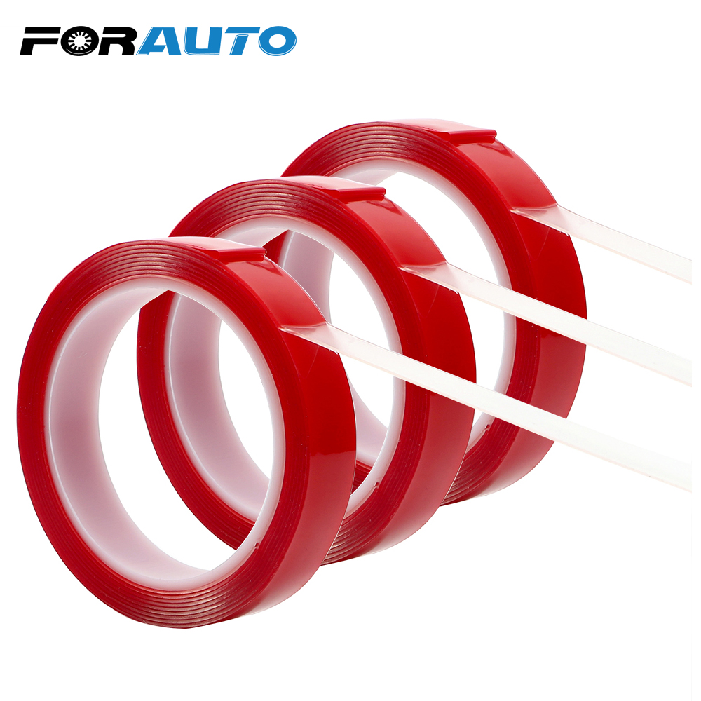 3Mx10MM Vehicle Double Side Sticker Car Adhesive Acrylic Foam Tape High Strength