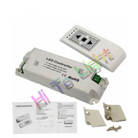 AC110V 220V Brightness Dimming LED Dimmer With RF Wireless Remote Switch Controller 1 Channel For LED
