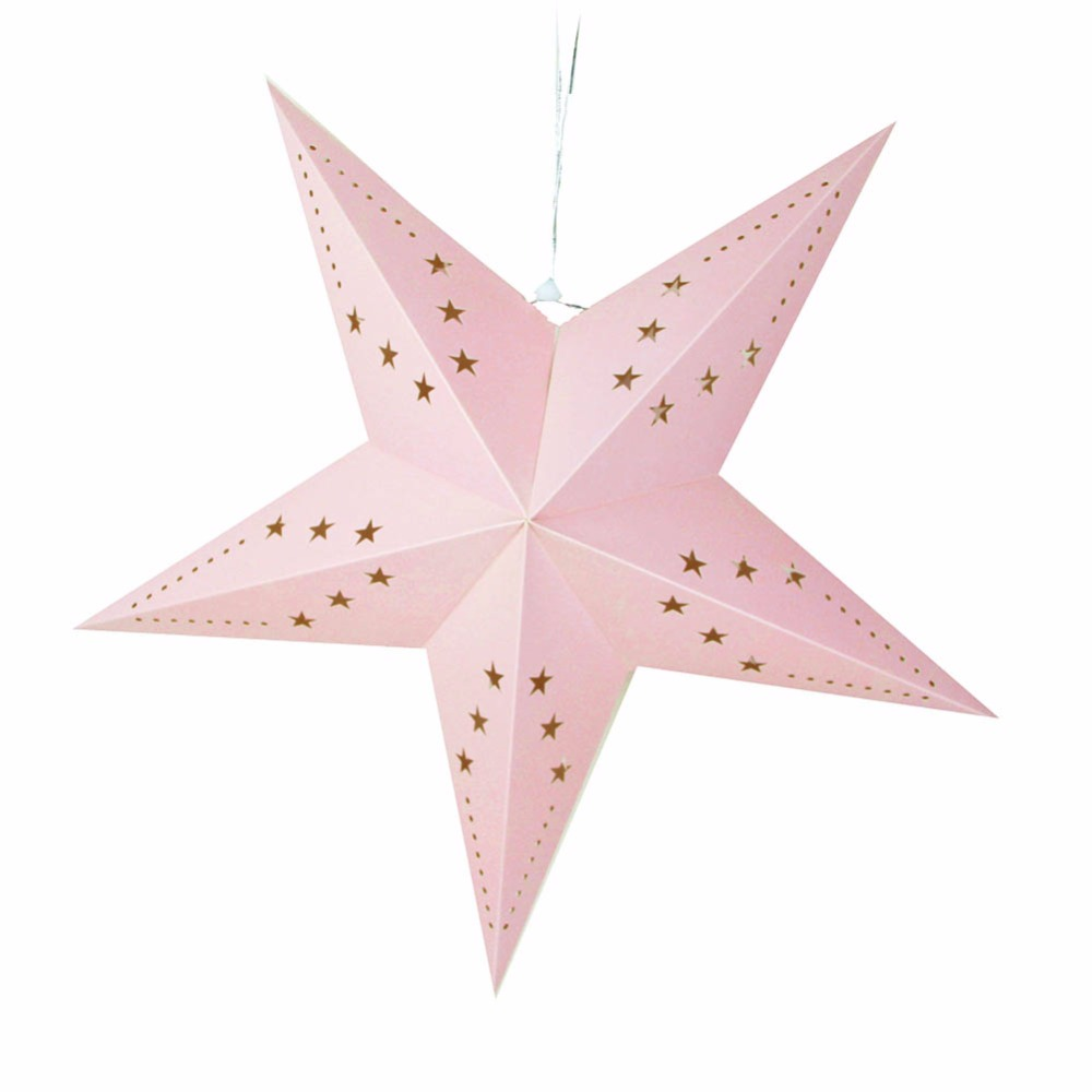 Pink Blue Paper Star 24 39 39 60cm Birthday Decorations Star For Home Wedding Festival Baby Shower Party Supplier Decor Accessories in Party DIY Decorations from Home amp Garden
