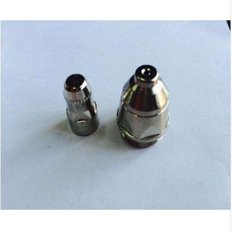 Купить с кэшбэком SALE 60 pcs Plasma Cutter Accesories P80 Torch Consumables Cutting Electrode/Tips Suitable 80A Plasma Cutting Gun Free Shipping